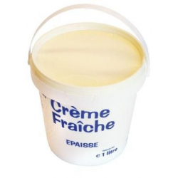 Crème fraîche épaisse 30% 1 L