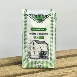 Farine de blé locale BIO