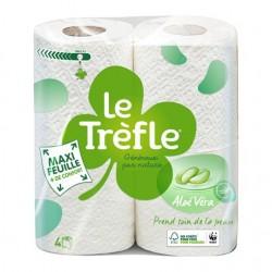 Papier toilette Le Trèfle Aloé