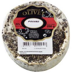 Fromage l'Olivet au poivre